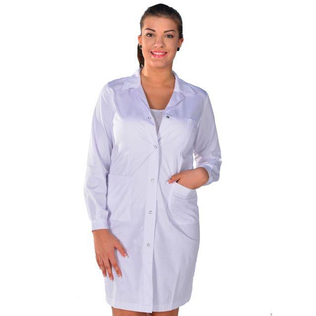 isacco blouse blanche de chimie anti acide pas cher. Black Bedroom Furniture Sets. Home Design Ideas