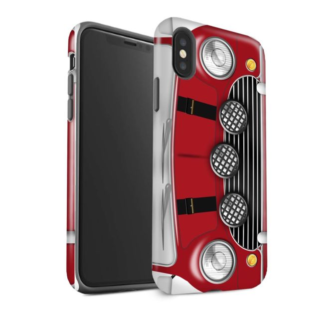 coque mat rouge iphone x