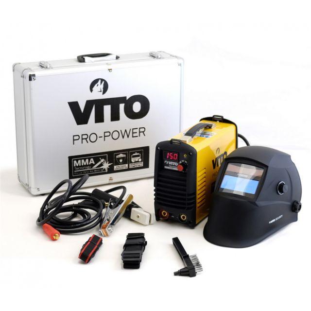 9614eaf6d7c3dd Vito Pro-power - Poste a souder inverter numerique Vito 150 soudure à l