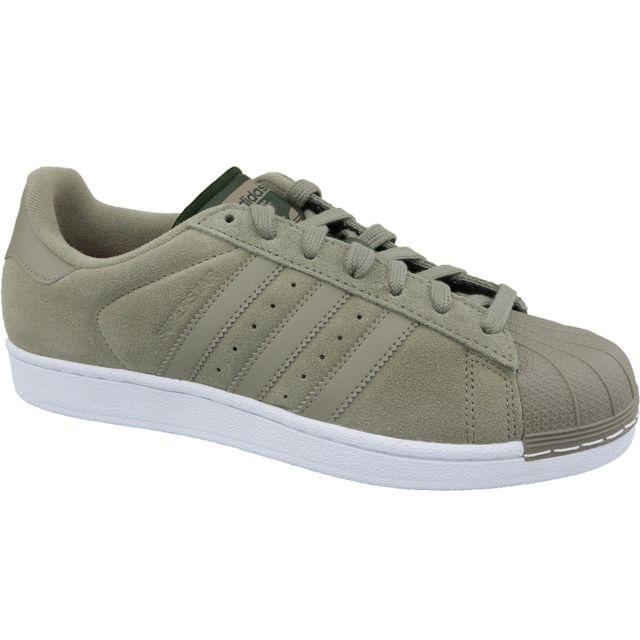Adidas Superstar W Cg3779 Vert pas cher Achat Vente