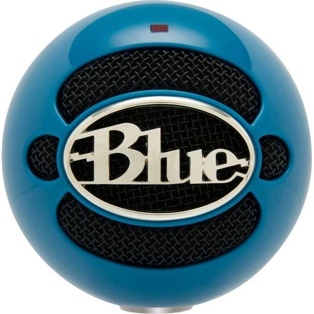 Blue Microphones Snowball - Neon Bleu Mini-microphone USB Bleu