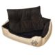 Rocambolesk - Superbe Panier chaud pour chien avec coussin rembourré taille L neuf