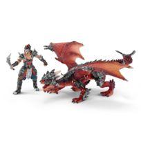 Schleich - Figurine Guerrier avec dragon