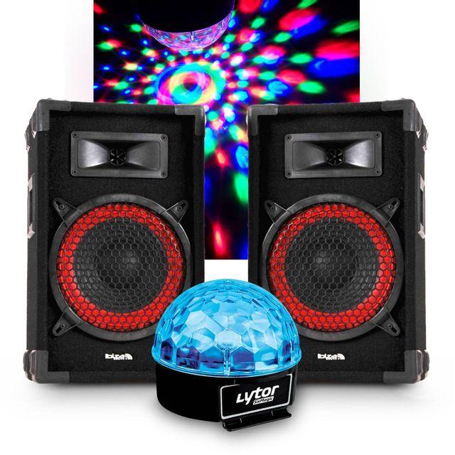 Ibiza Sound 2 Enceintes passives sono 2x180W 8