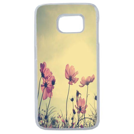 Lapinette - Coque Souple Pour Samsung Galaxy S8 Motif Fleur Coquelicot