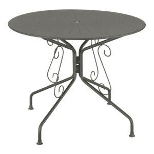 Carrefour romantic table de jardin ronde romantique - Table ronde de jardin pas cher ...