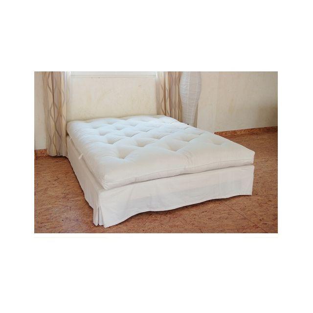 literie artisanale futon en coton naturel fabriqu main 1 place taille matelas 90 x 190 cm. Black Bedroom Furniture Sets. Home Design Ideas