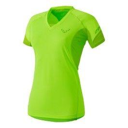 Dynafit Tee shirt Vertical manches courtes jaune fluo