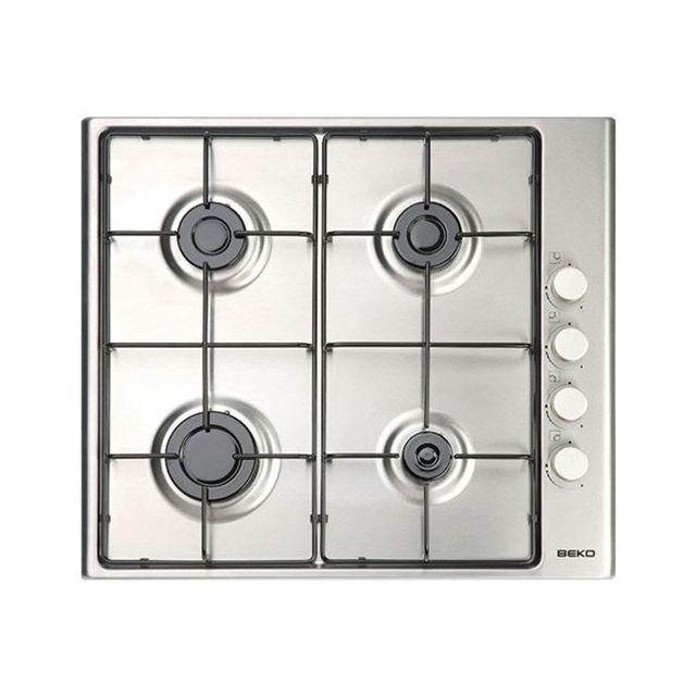 Totalcadeau Plaque au gaz à 4 feux 60 cm Acier inoxydable - Plaque de cuisson haute qualité