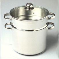 Baumalu - Couscoussier Cylindrique 9L Inox Diam. 24 cm