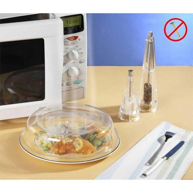 Astuceo Couvre assiette micro-onde en polycarbonate
