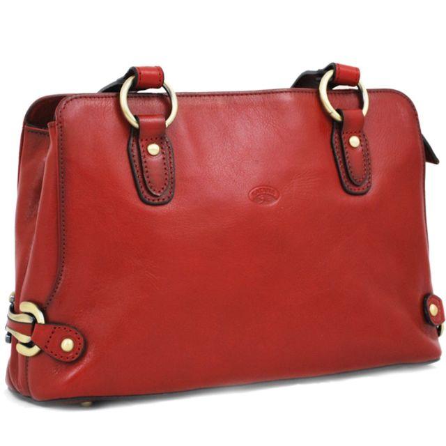 nouveau design gamme exclusive profiter de prix discount Sac à main en cuir - rouge