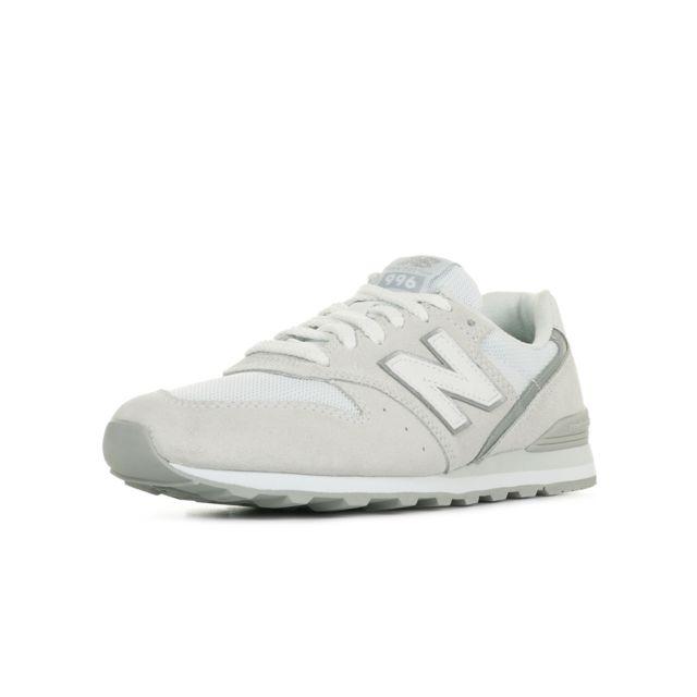 new balance 996 femme cuir blanc