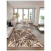 ARTE ESPINA - Tapis EARTH Tapis Moderne par marron 80 x 150 cm
