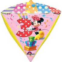 "ToyCentre - Amscan 15 ""/ 38 Cm, Mouse Diamondz Foil Balloons 3 Ans"