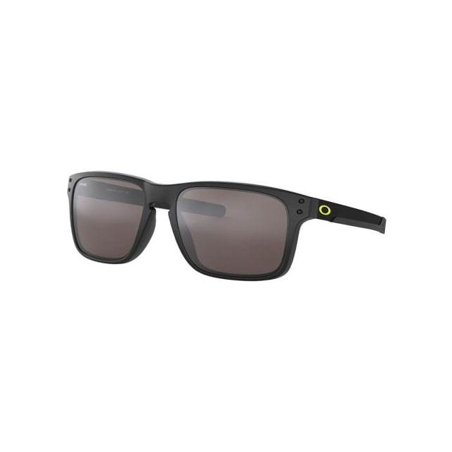Oakley - Lunettes Oakley Holbrook Mix Valentino Rosi Matte Black avec  verres Prizm Black Polarized f73b2d5cac39