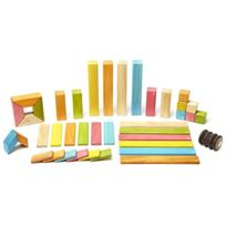 Tegu - 42 Piece Magnetic Wooden Block Set, Tints