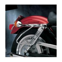 "Addition repose pied avec support 1 1//4/"" Cruiser Custom pour Harley Davidson pare-carter"