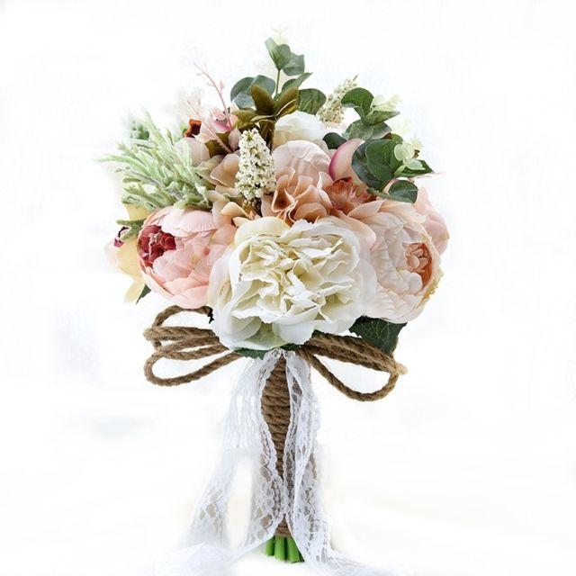 Wewoo Mariage Tenant Des Fleurs Bouquet De Mariee Accessoires