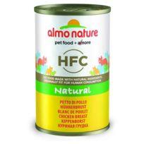 Almo Nature - Pâtée en Boîte Hfc Natural Blanc de Poulet pour Chat - 140g