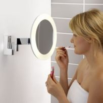 Astro - Miroir grossissant lumineux mural Niimi Round Led