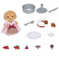 SYLVANIAN FAMILIES - Coffret Patisserie et Figurine - 5264