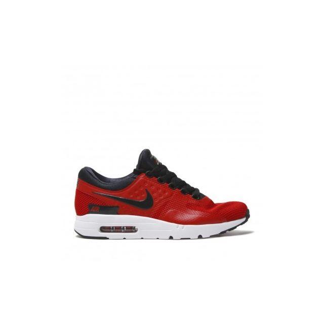 info for d0158 3fbda Nike - Air Max Zero Essential - 876070-601 - Age - Adulte, Couleur - Rouge,  Genre - Homme, Taille - 41 - pas cher Achat   Vente Baskets homme - ...