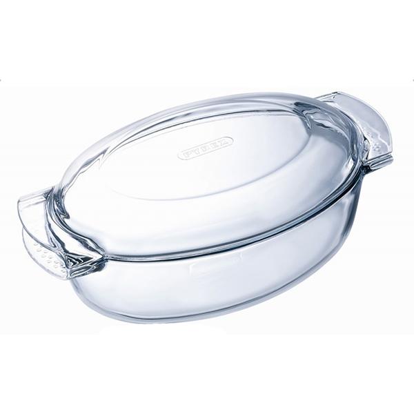 cocotte ovale 4.5l verre - 460a000/5043
