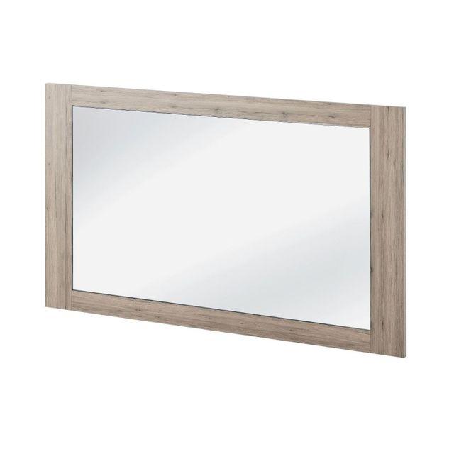 Paris prix miroir rectangulaire pirmont 120cm naturel for Miroir paris