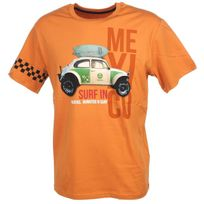 Oxbow - Tee shirt manches courtes Tampina cuivre Orange 74102