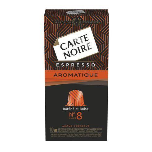 Carte Noire Capsules Aromatique n°8 - Boite de 10