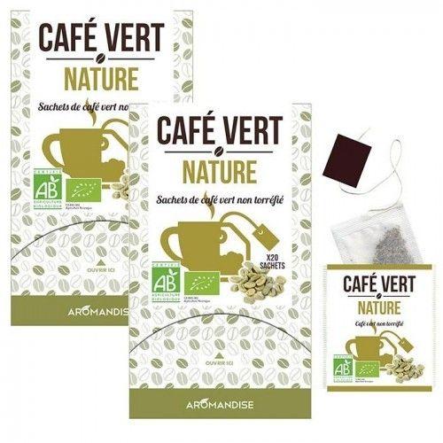Autre Café vert nature - 40 sachets