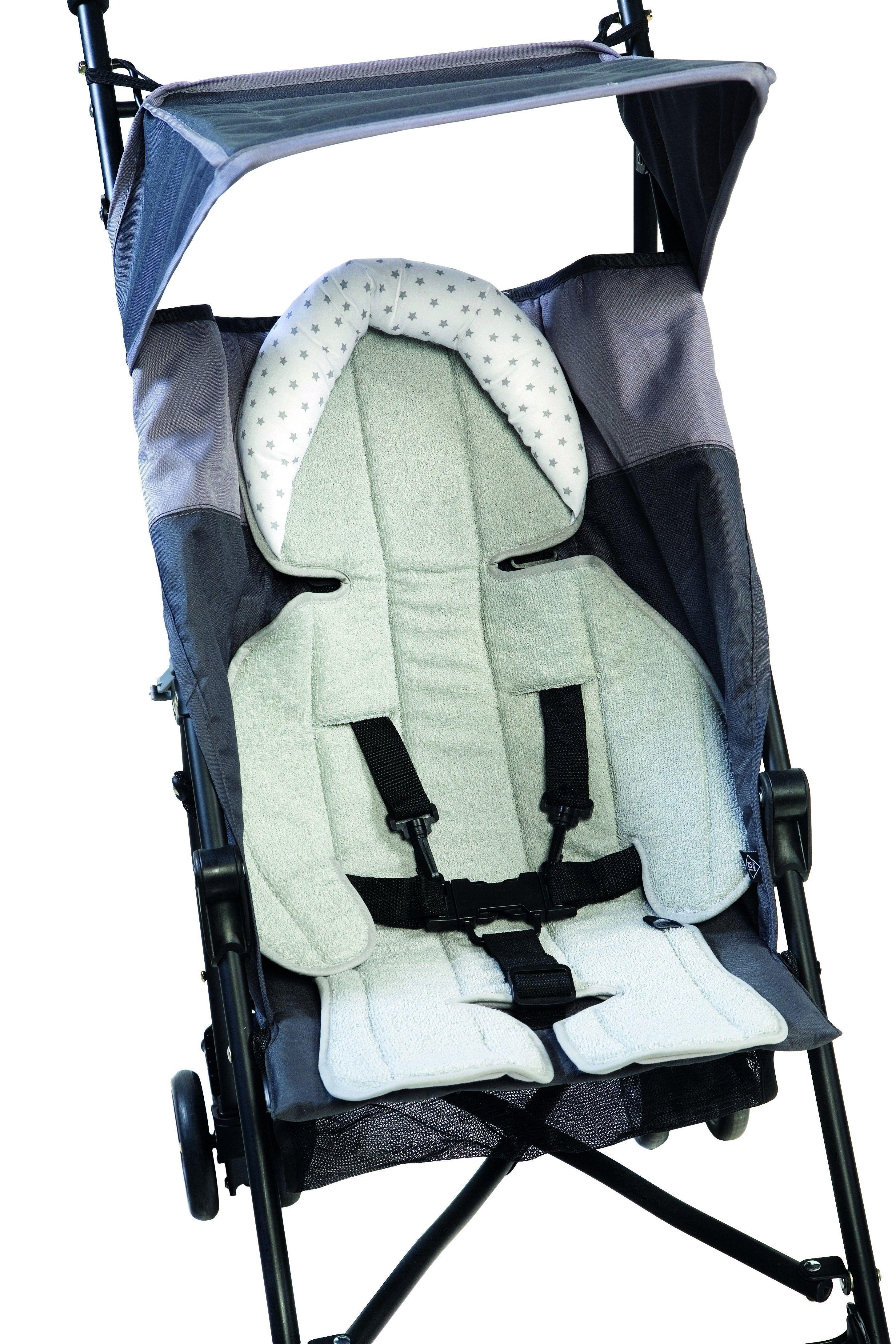 Matelas réducteur reversible pour poussettes et sièges-auto