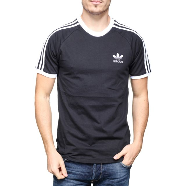 tee shirt adidas 3 stripes solde
