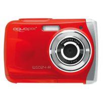 Aquapix - Appareil photo étanche W1024 Splash - Rouge