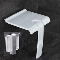 Pellet Asc - Siège de douche escamotable blanc Arsis 047730