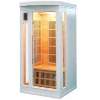 France Sauna - Sauna Infrarouge Soleil Blanc 1