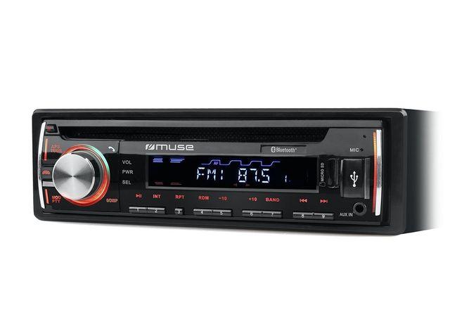MUSE Autoradio lecteur CD/MP3 - 1229BT