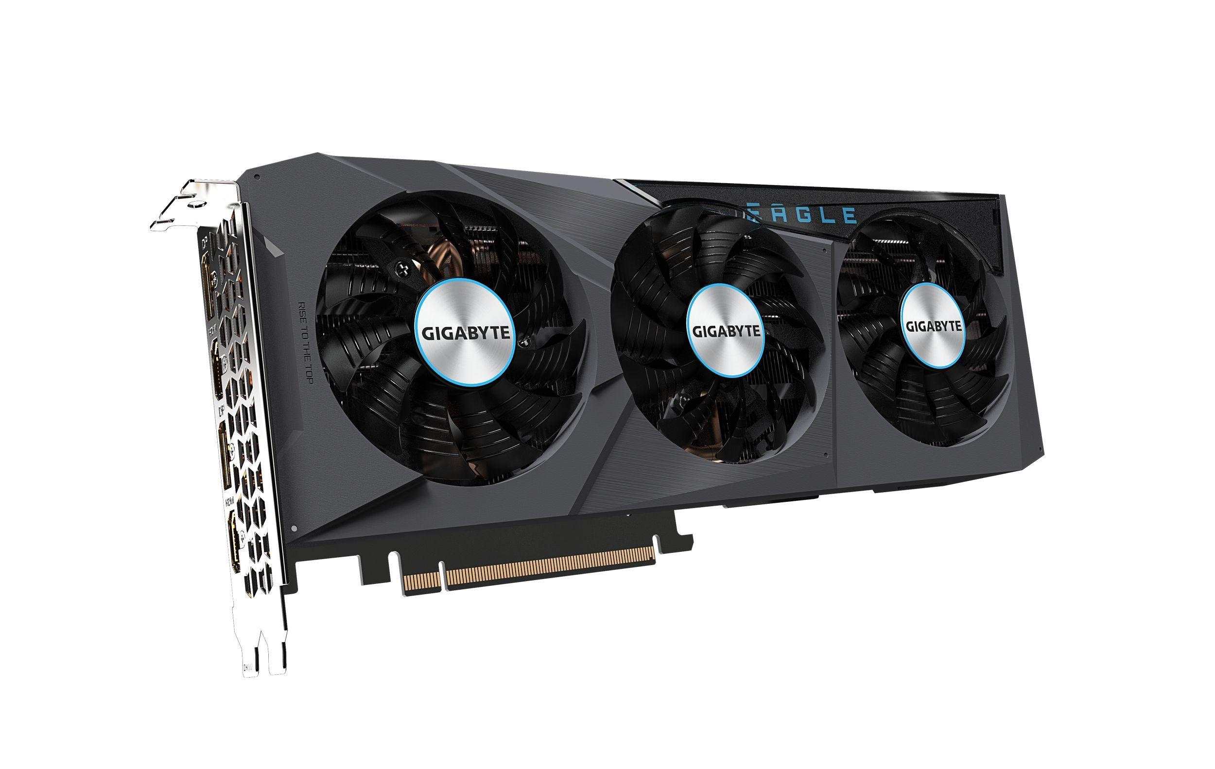 Carte graphique GeForce RTX 3070 Eagle OC 8 Go Gigabyte