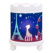 Trousselier - Veilleuse Lanterne magique : Manège Sophie la girafe