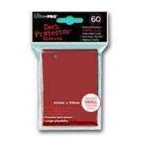 Ultra Pro - 330521 - Jeu De Cartes - Housse De Protection - Petit - Rouge - 60 PiÈCES - D10