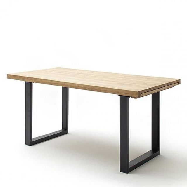 Inside 75 Table repas extensible Darke 220 x 100 cm chêne
