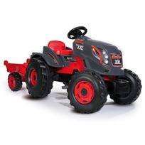 SMOBY - Tracteur stronger xxl + remorque - 710200