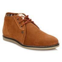 Penguin - Mens Cognac Legal Suede Boots-UK 9