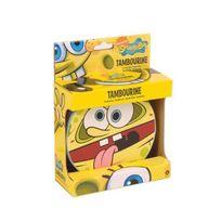 SpongeBob Squarepants - Bob l'éponge Sbpp002 Spongebob Tambourin Motif Squarepants Jaune