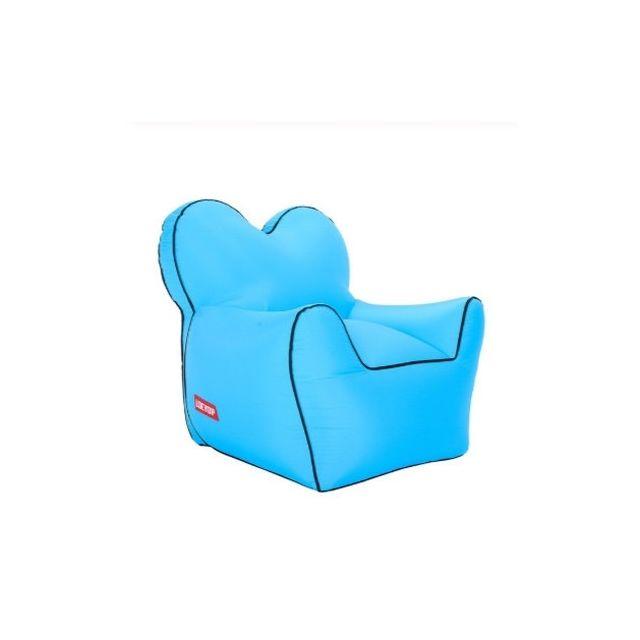 Wewoo Fauteuil Haricot gonflable de sofa imperméable à l'eau simple d'humidité extérieure portative extérieuretaille 60x70x60c