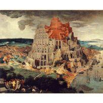 Ricordi Arte - Puzzle 1000 pièces : La Tour de Babel, Pieter Brueghel