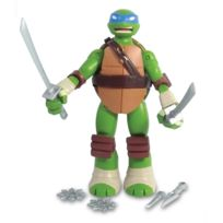 Giochi Preziosi - Figurine Tortues Ninja : Battle Shell 12 cm : Leonardo