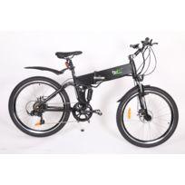 Fse - Vélo électrique pliant 26 pouces Noir