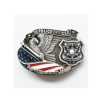 Universel - Boucle de ceinture policier usa police officer homme femme